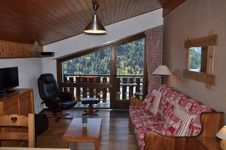 Studio Apartment with Coin Montagne in Chatel'