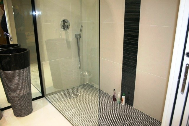 Morillon Ski in ski out apartment - vast walk-in shower