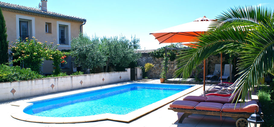 Exterior View, Mas for sale Languedoc