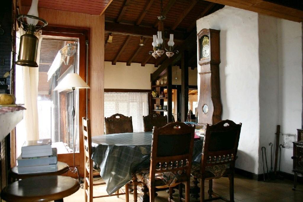 Samoens chalet dining room