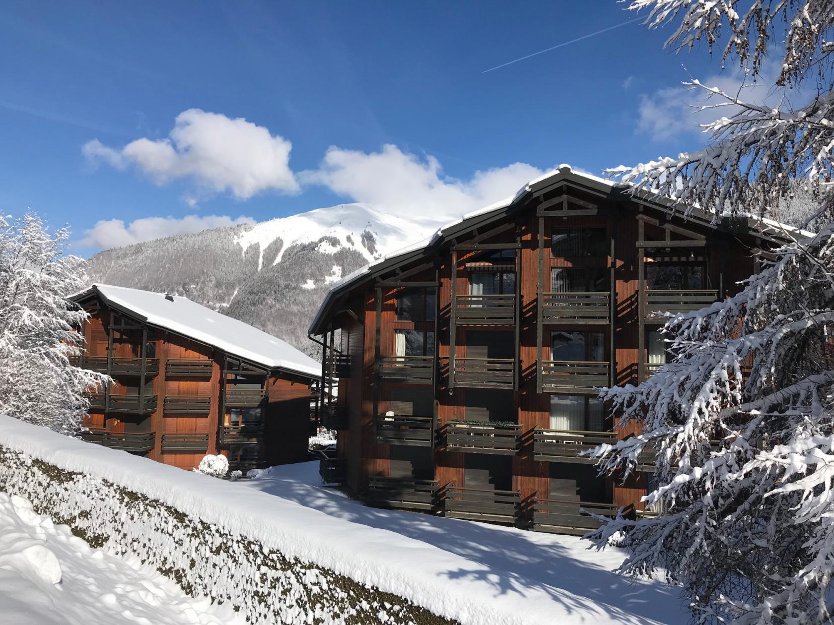 Two Bedroomed Duplex Apartment in Morzine'