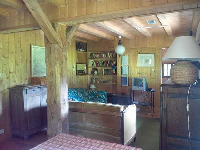 St Gervais ski farm lounge