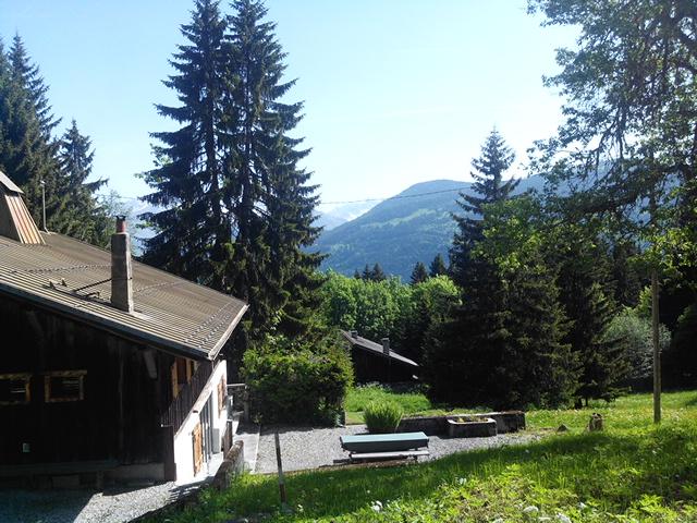 St Gervais ski farm view