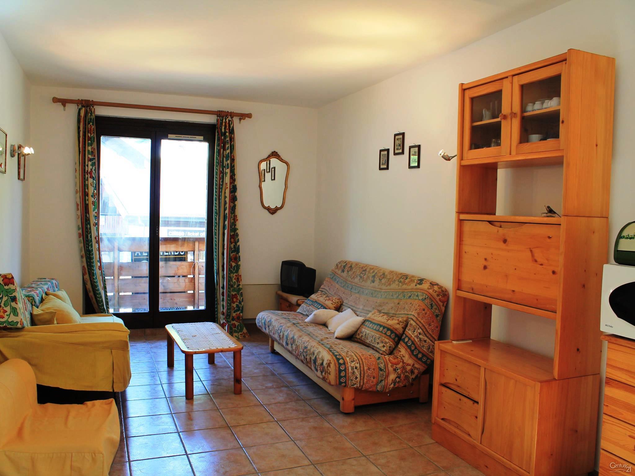 Les Gets apartment living room