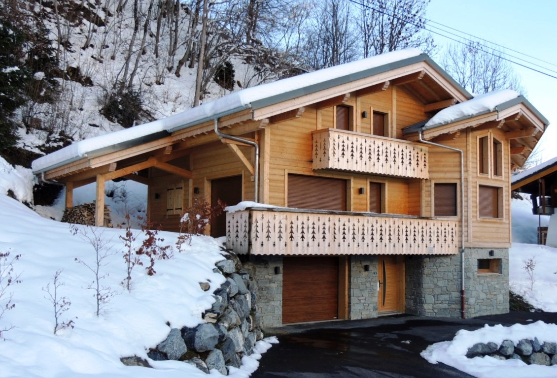 Superb Chalet above Les Gets'