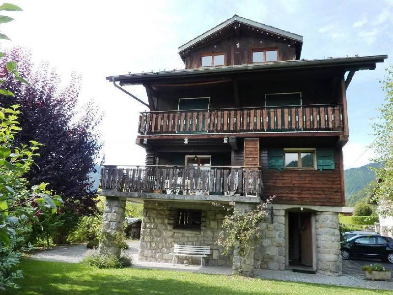 Large House on Sunny Side of Morzine'