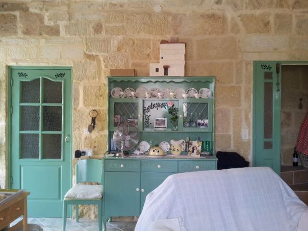 Living area village House, Mus Languedoc