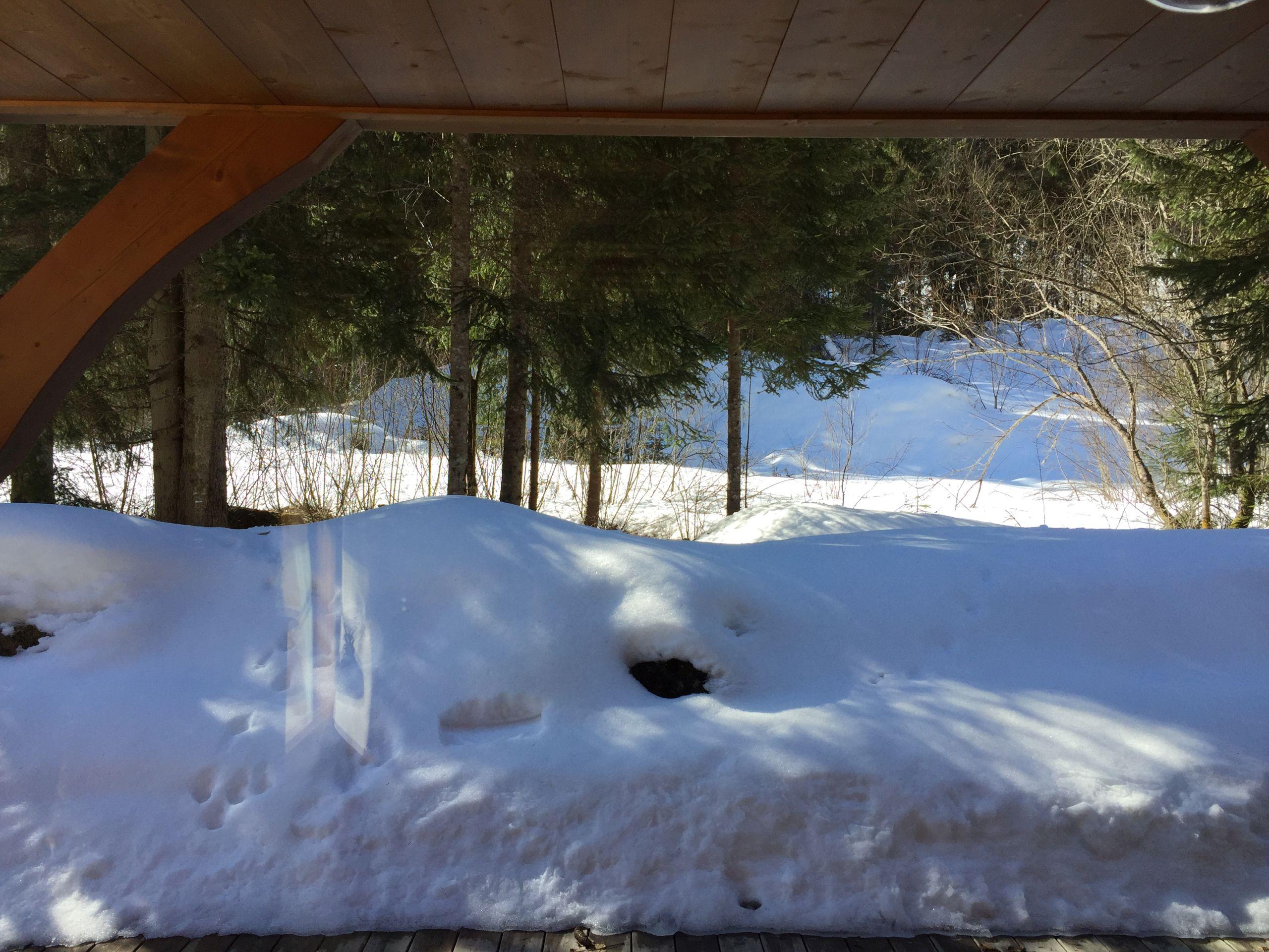 Outside - winter