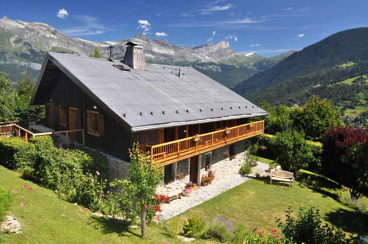 St Gervais renovated farmhouse