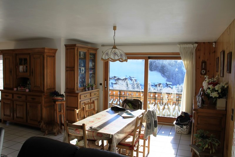 Les Gets chalet with view