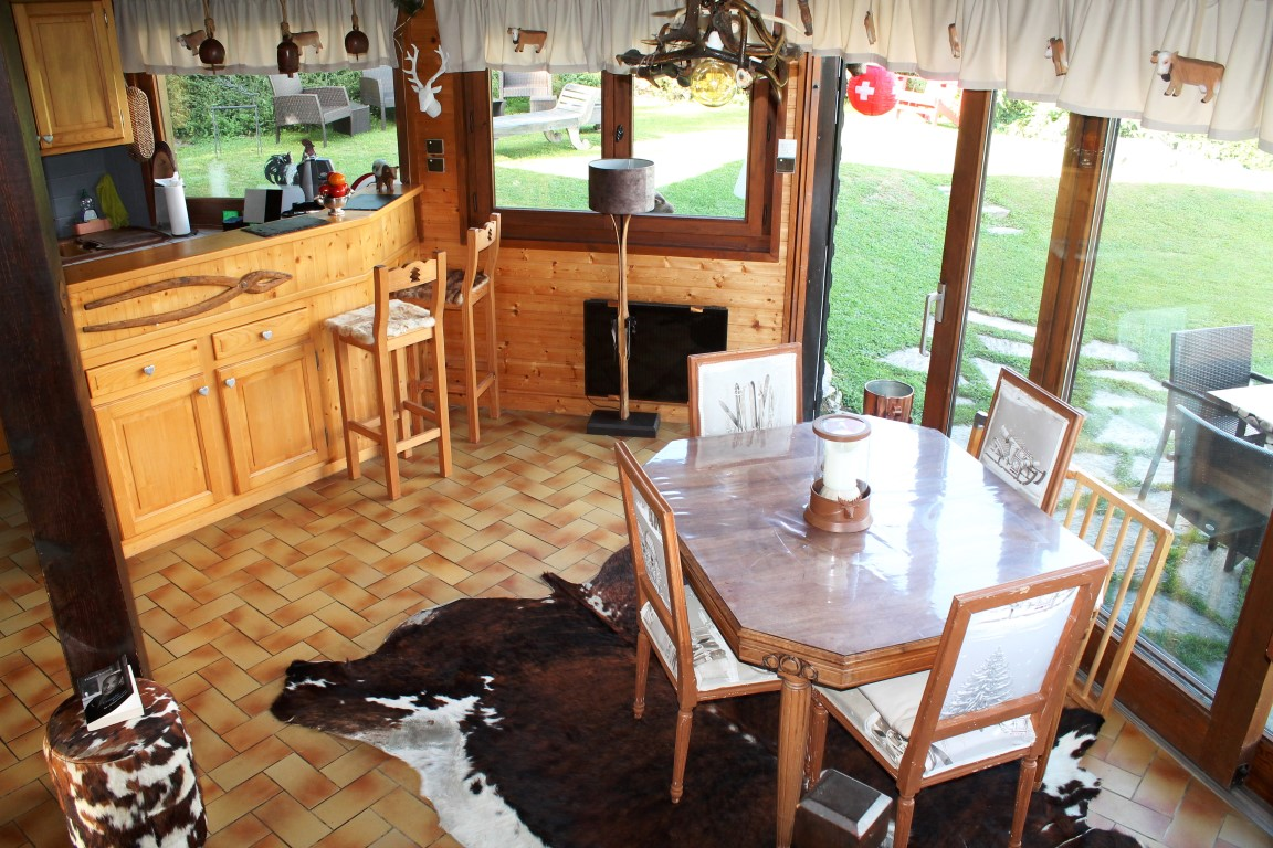 Chalet with View in Quiet Area of Les Gets'