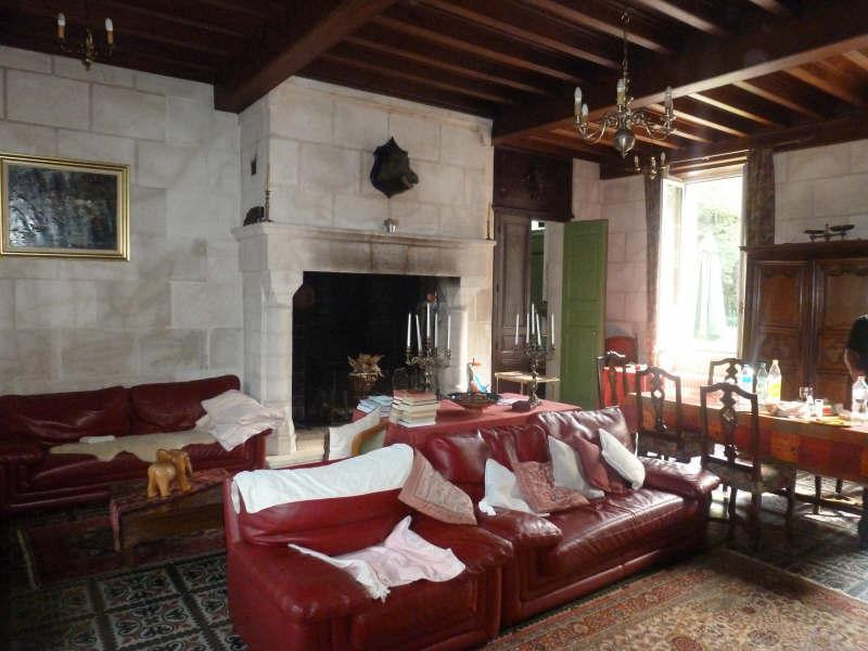 Sitting room, Chateau Manor House in Provence