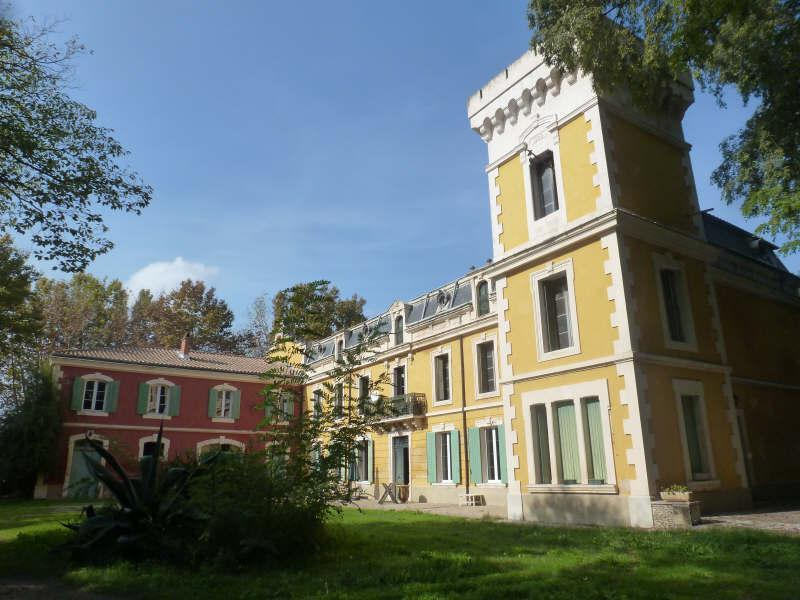 Exterior view, Chateau Manor House in Provence