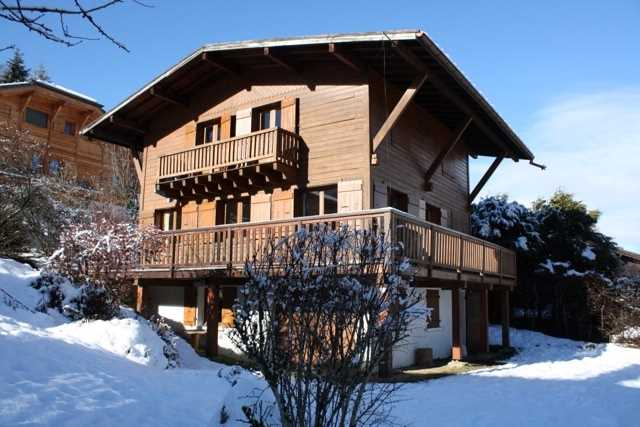 5 bedroom chalet with Mont Blanc views'