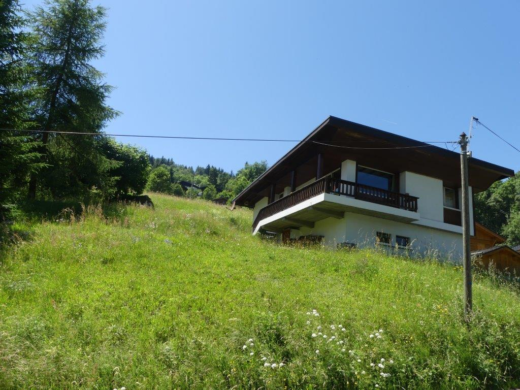 3 bedroom Chalet with Mt Blanc views'