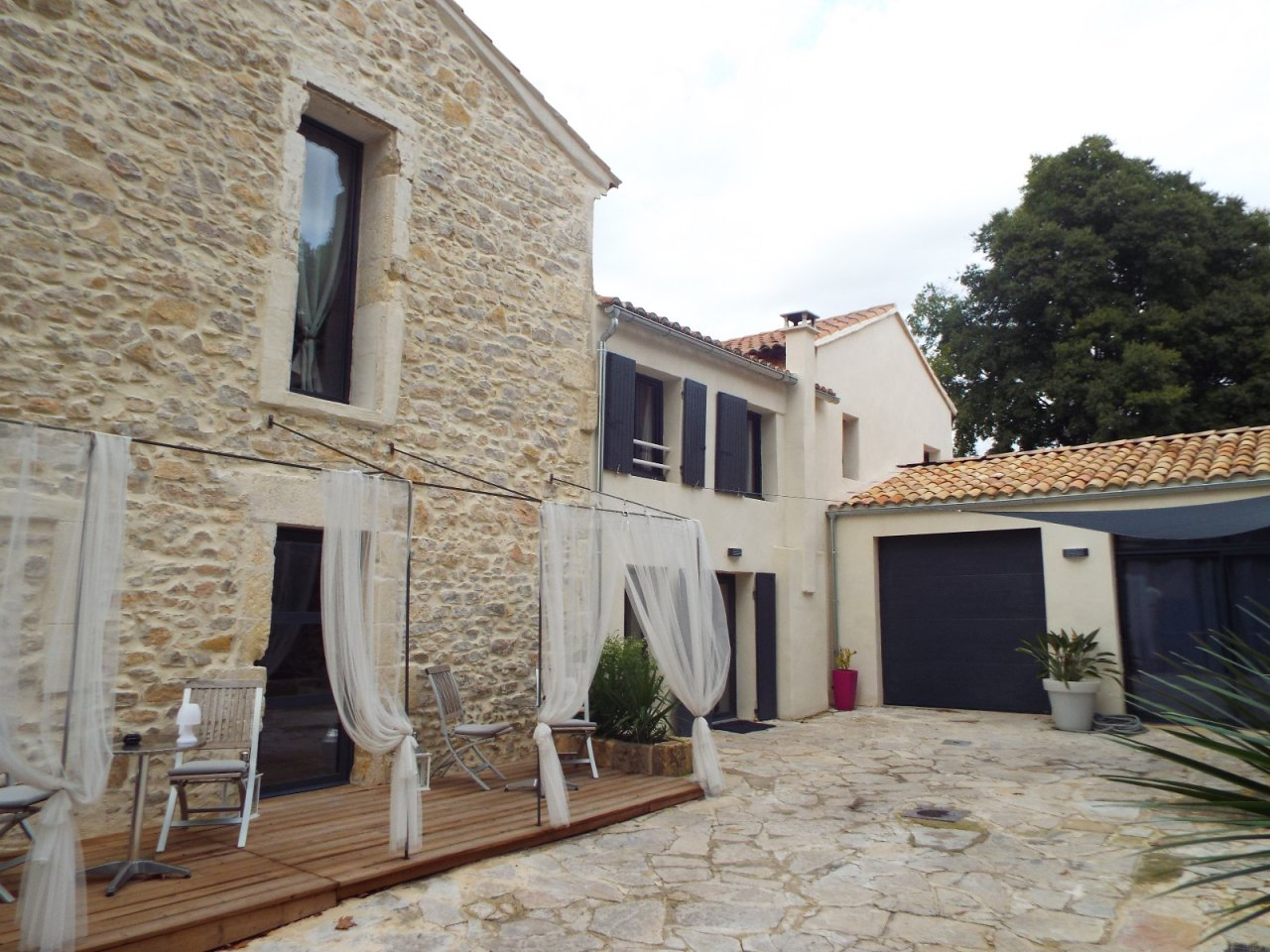 Stone house for sale Gard
