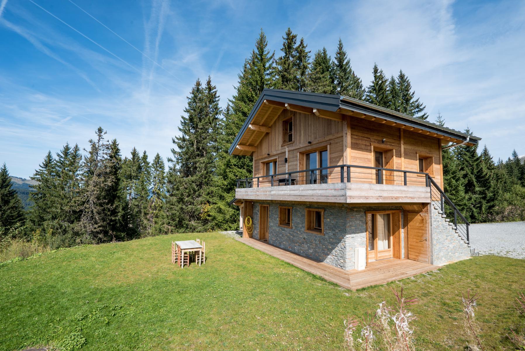 Renovated Chalet on Les Gets Ski Slopes'