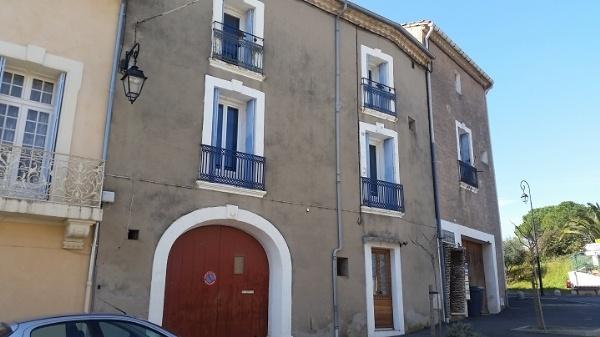 Exterior of the house near Pézenas