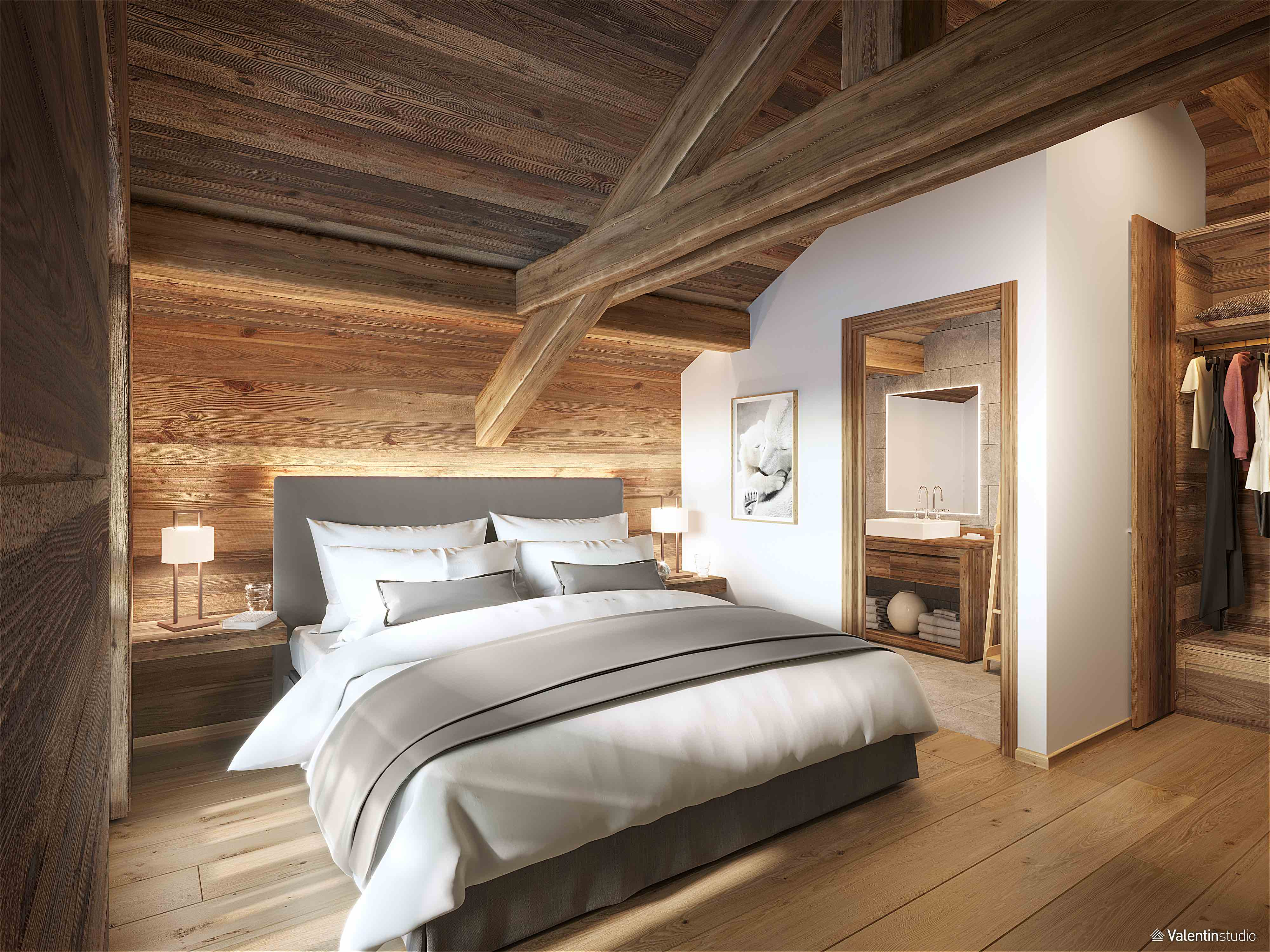 Bedroom - Artists Impression