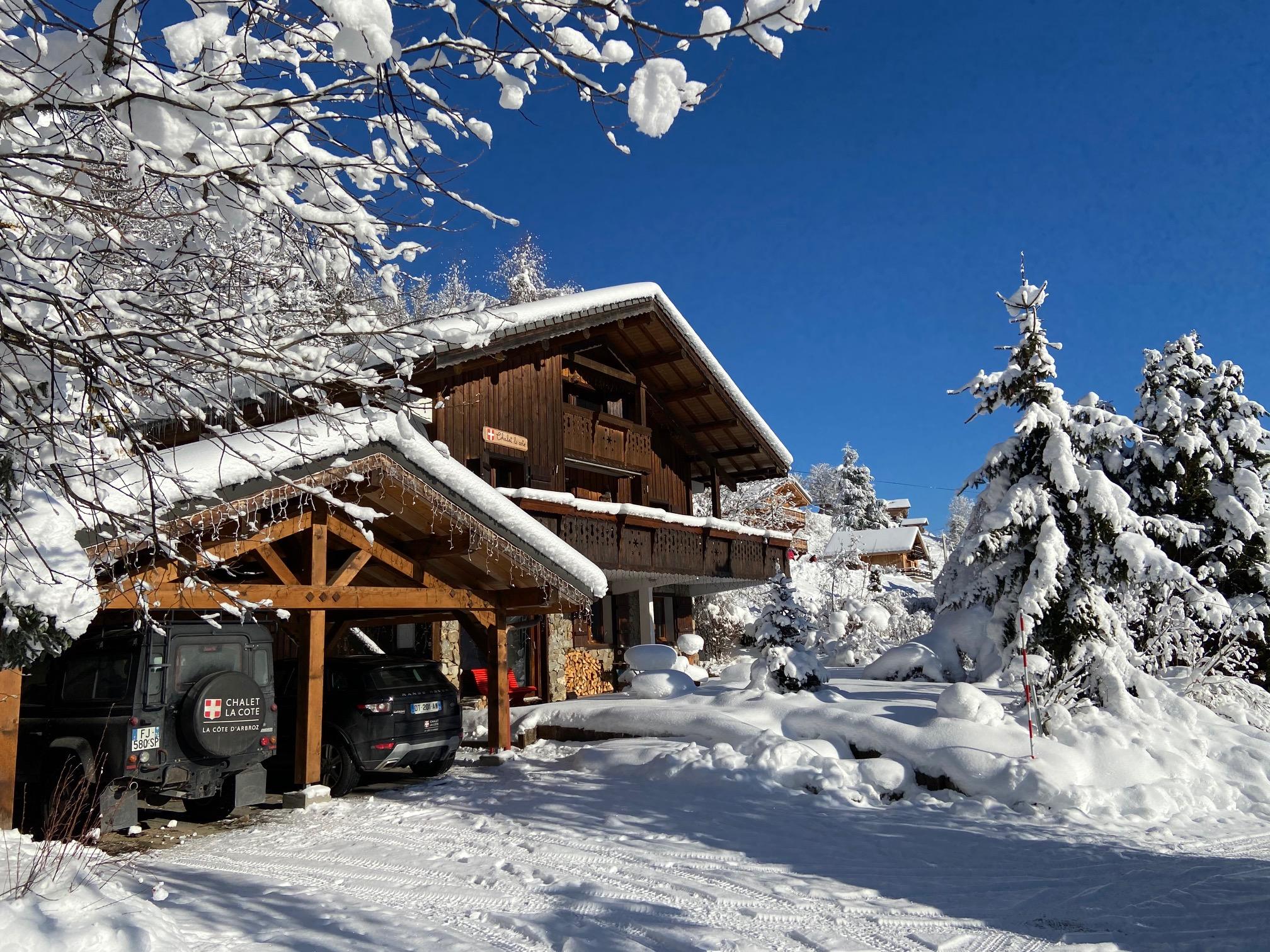 Exterior, Winter