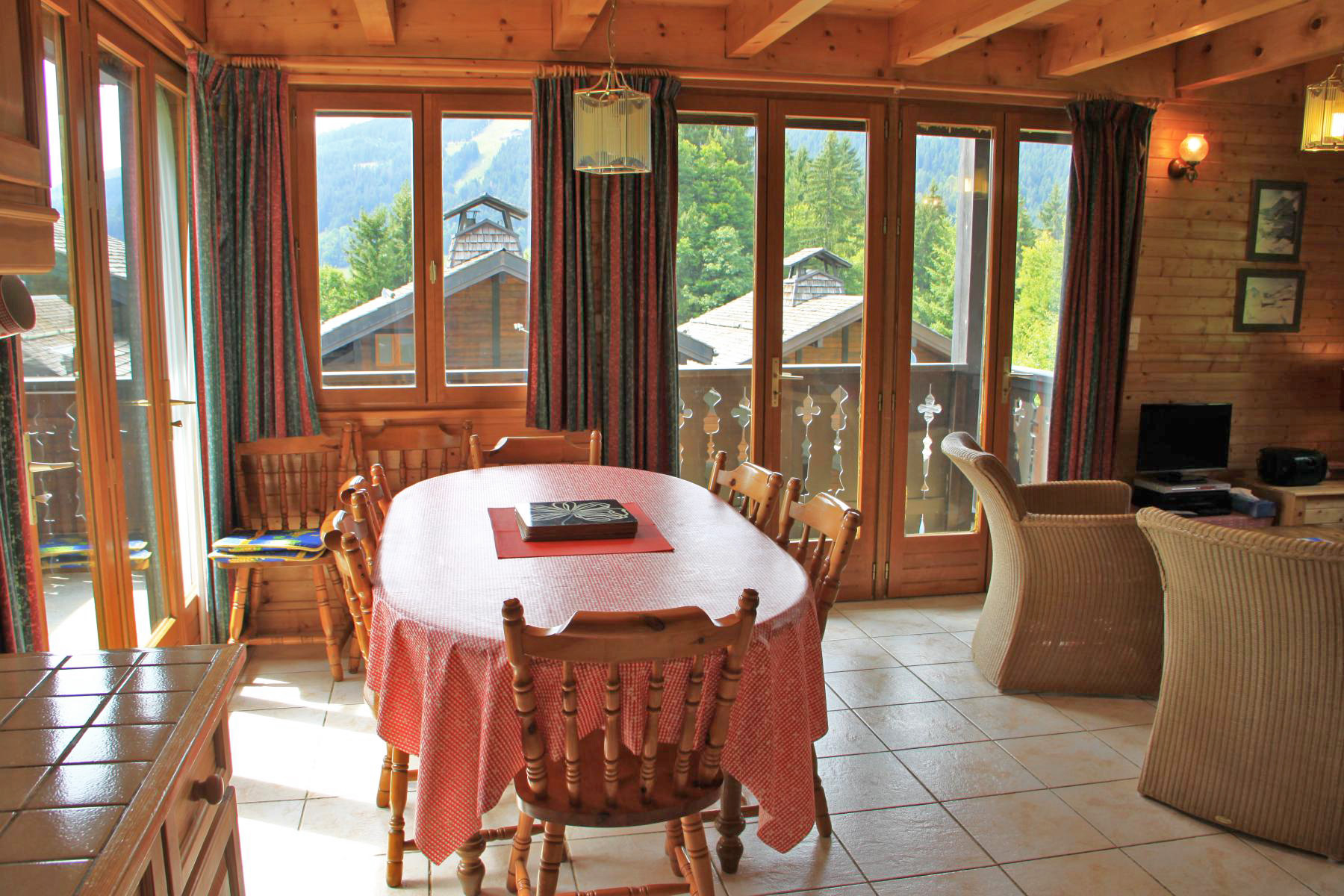Ski-in Chalet in Les Gets'