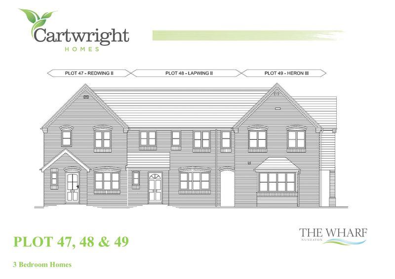 The Wharf (Lapwing design Plot 48),  Bridge Street,  Nuneaton  CV10