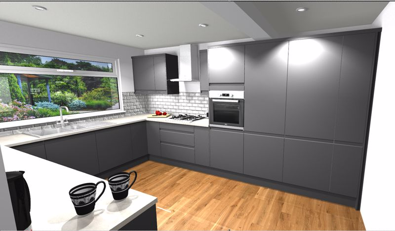 Plot 63 kitchen plan 2
