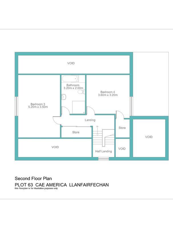 Plot no.63 cae america llanfairfechan layout3