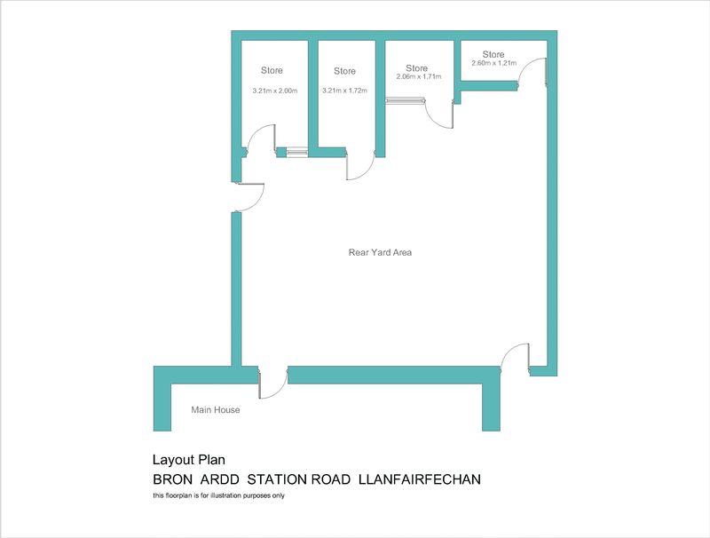 Bron ardd station road llanfairfechan layout3