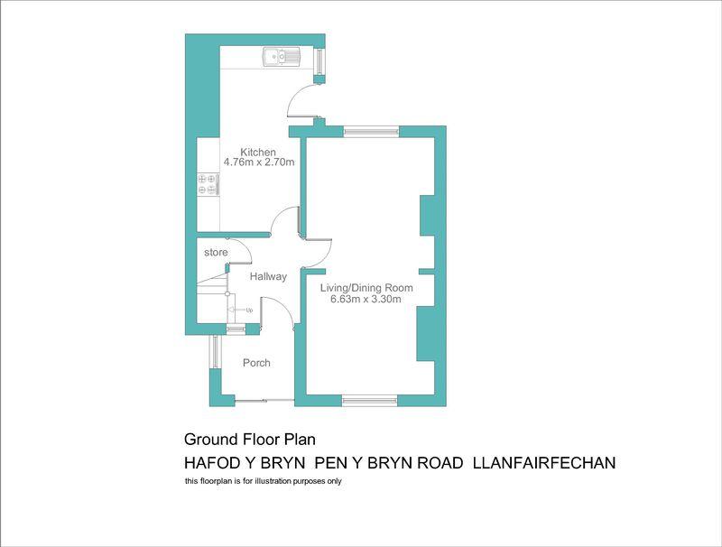 Hafod y bryn pen y bryn road llanfairfechan layout1