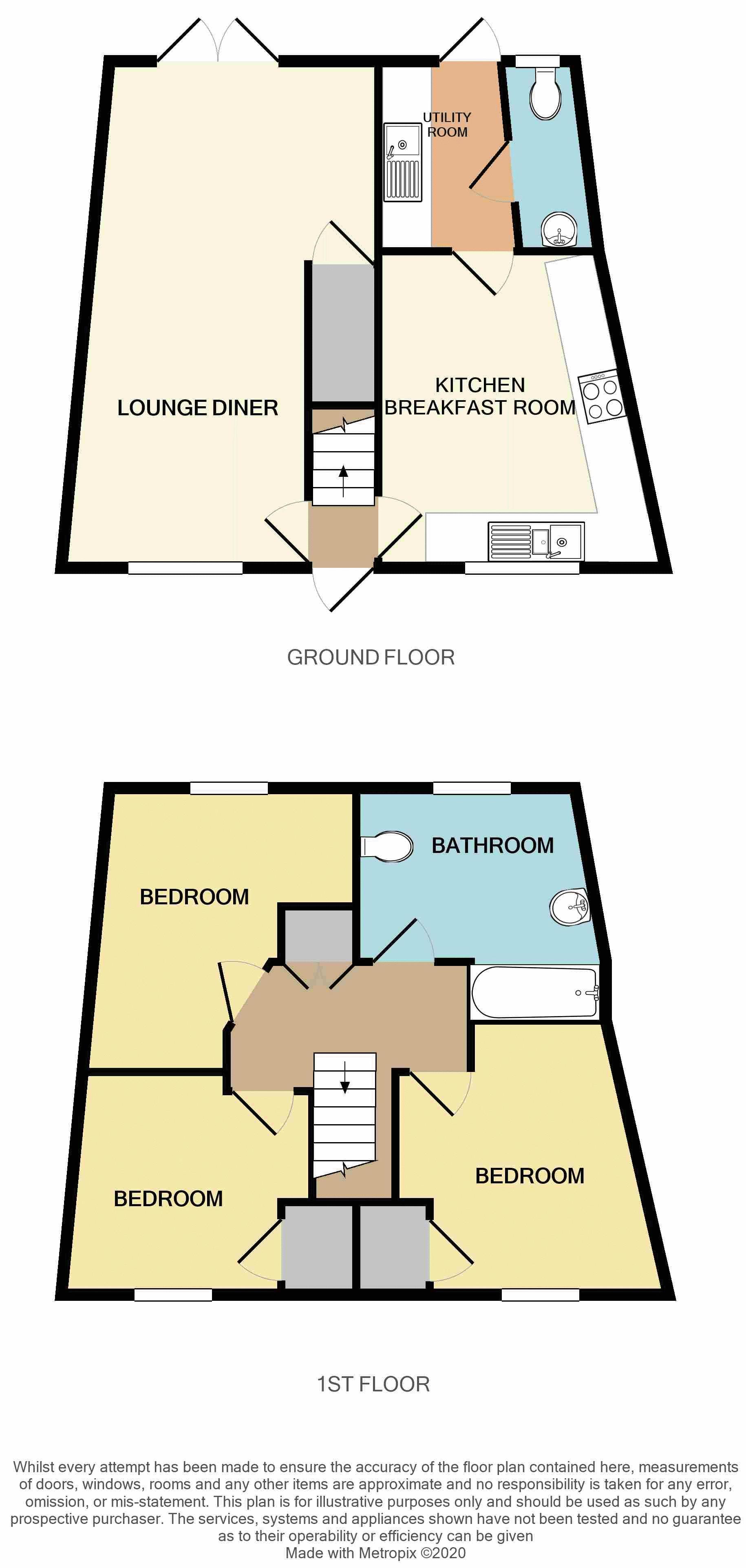 Eastwick Barton, Nomansland floorplan