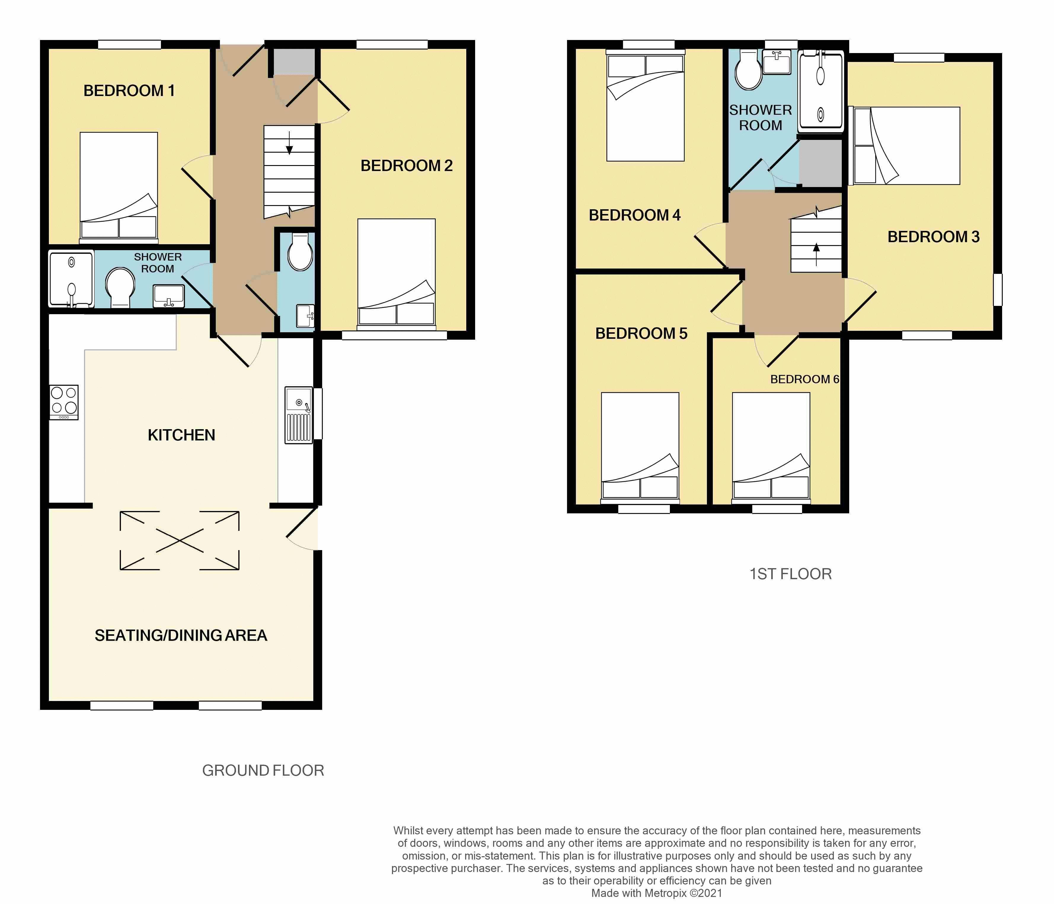 Room 6, Bishop Westall Road, Exeter floorplan
