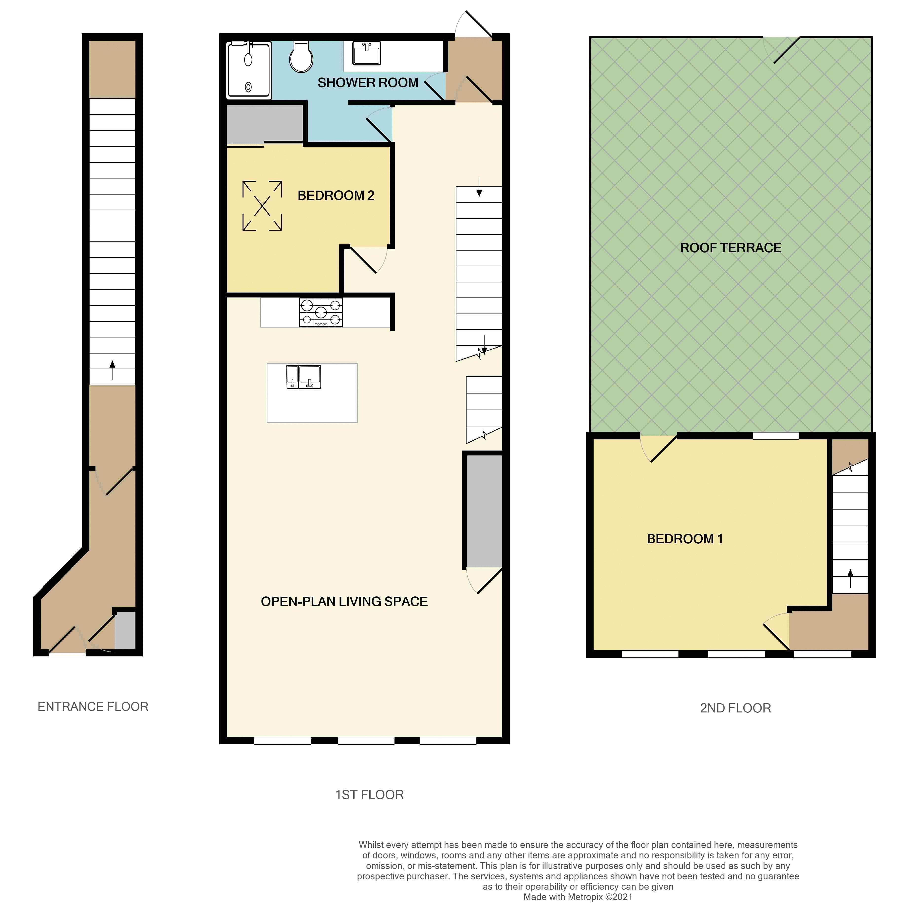 City Centre, Exeter floorplan