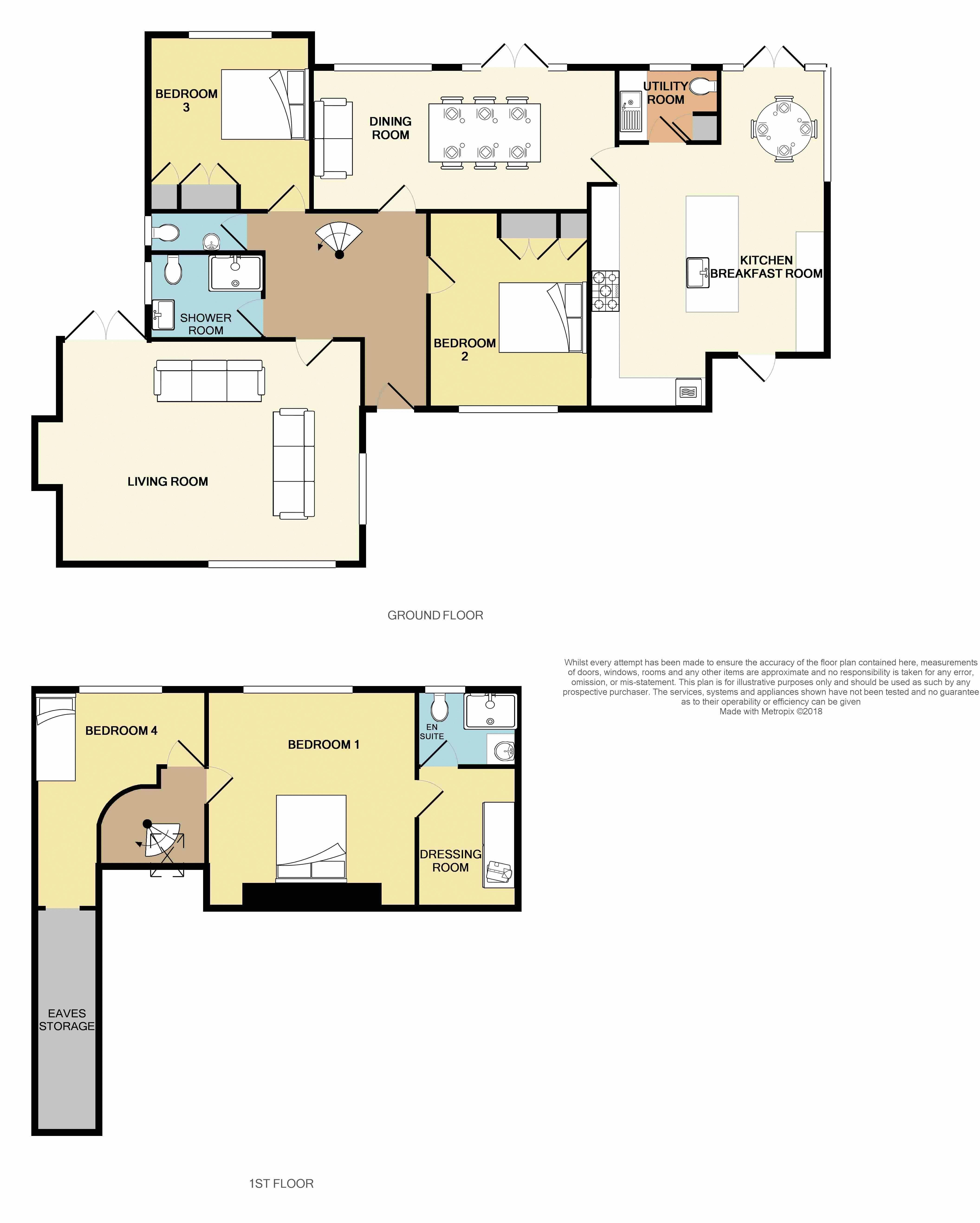 Balfours, Sidmouth floorplan