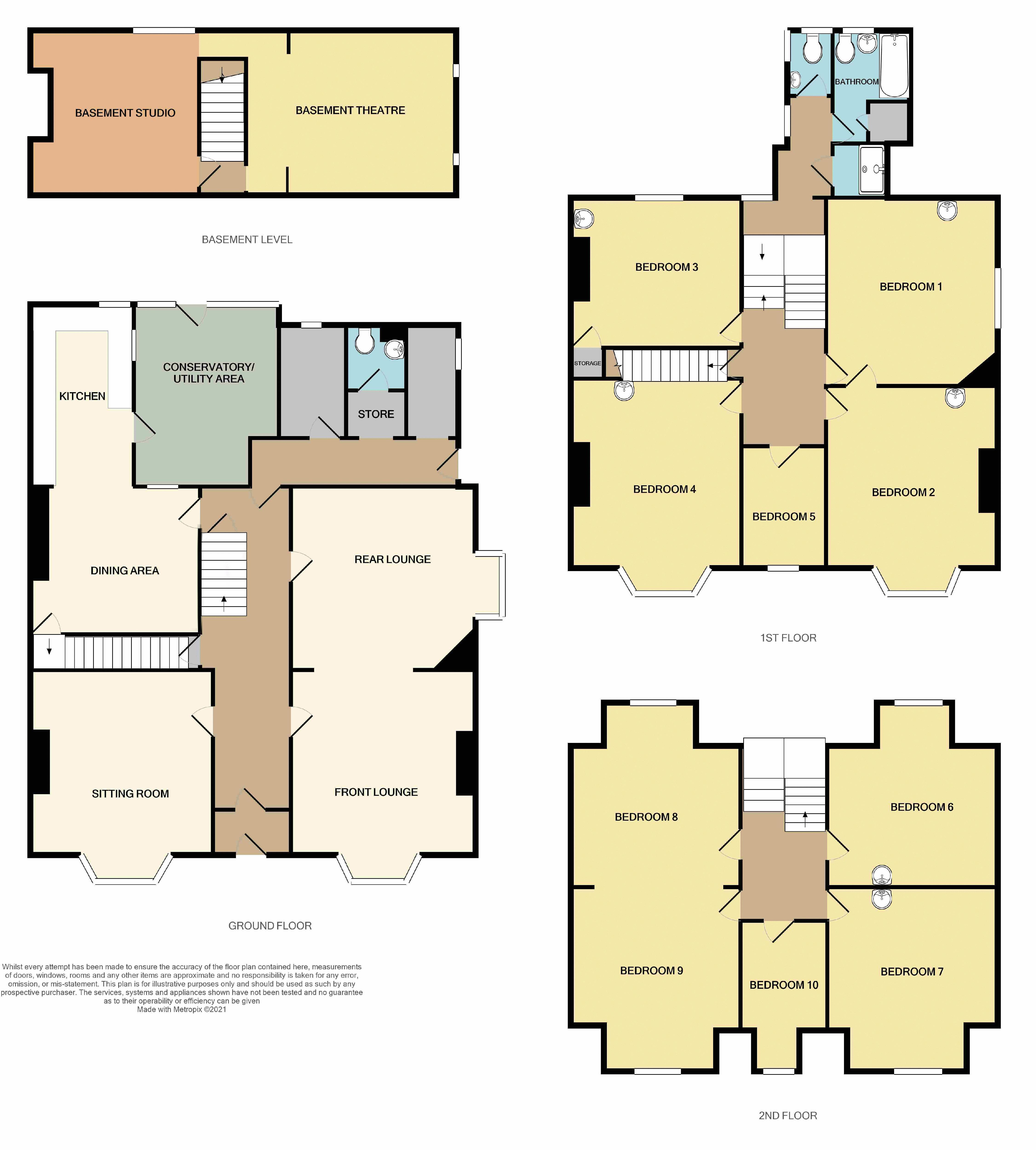 Melrose, Exeter floorplan