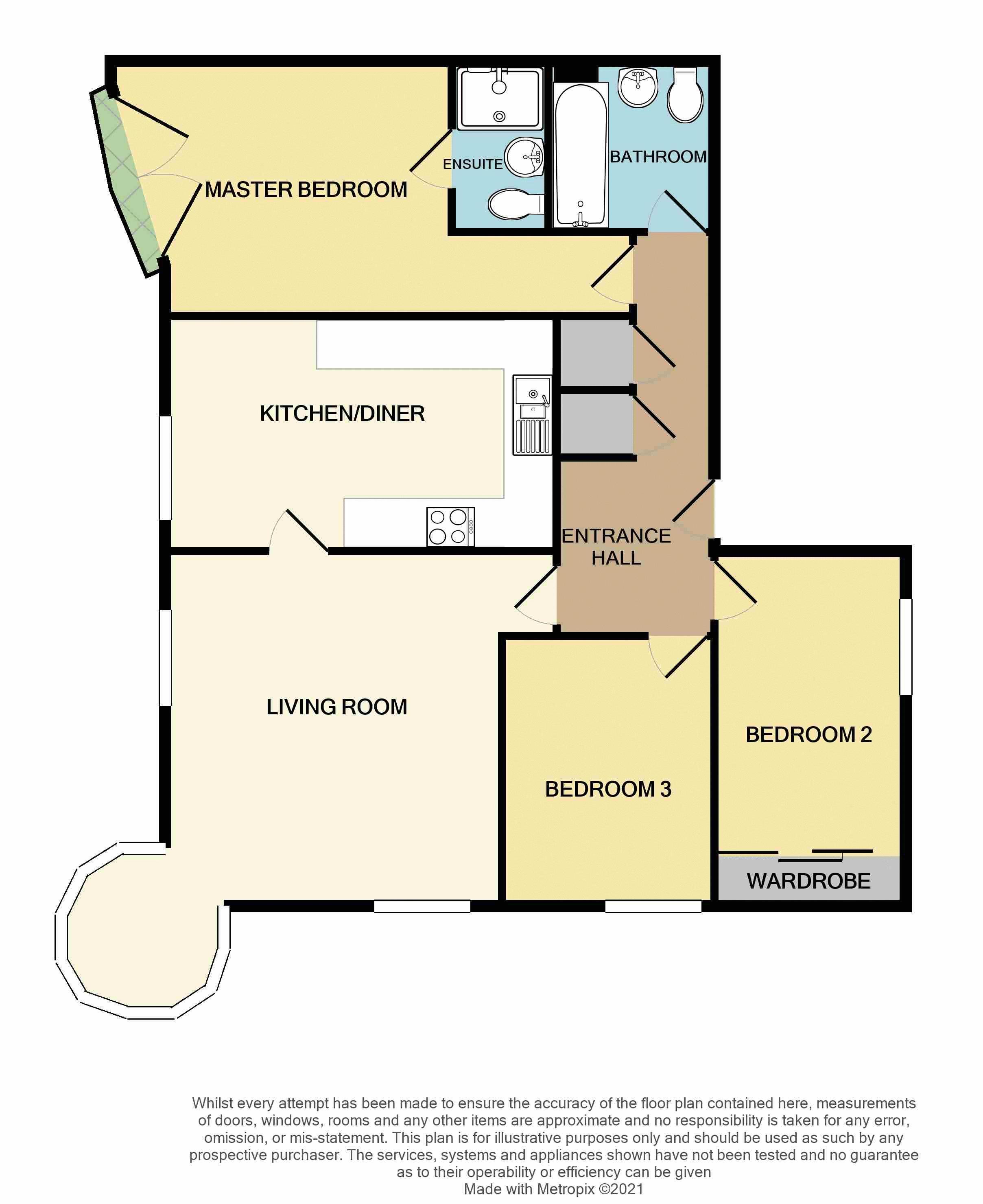 Waterside, Exeter floorplan