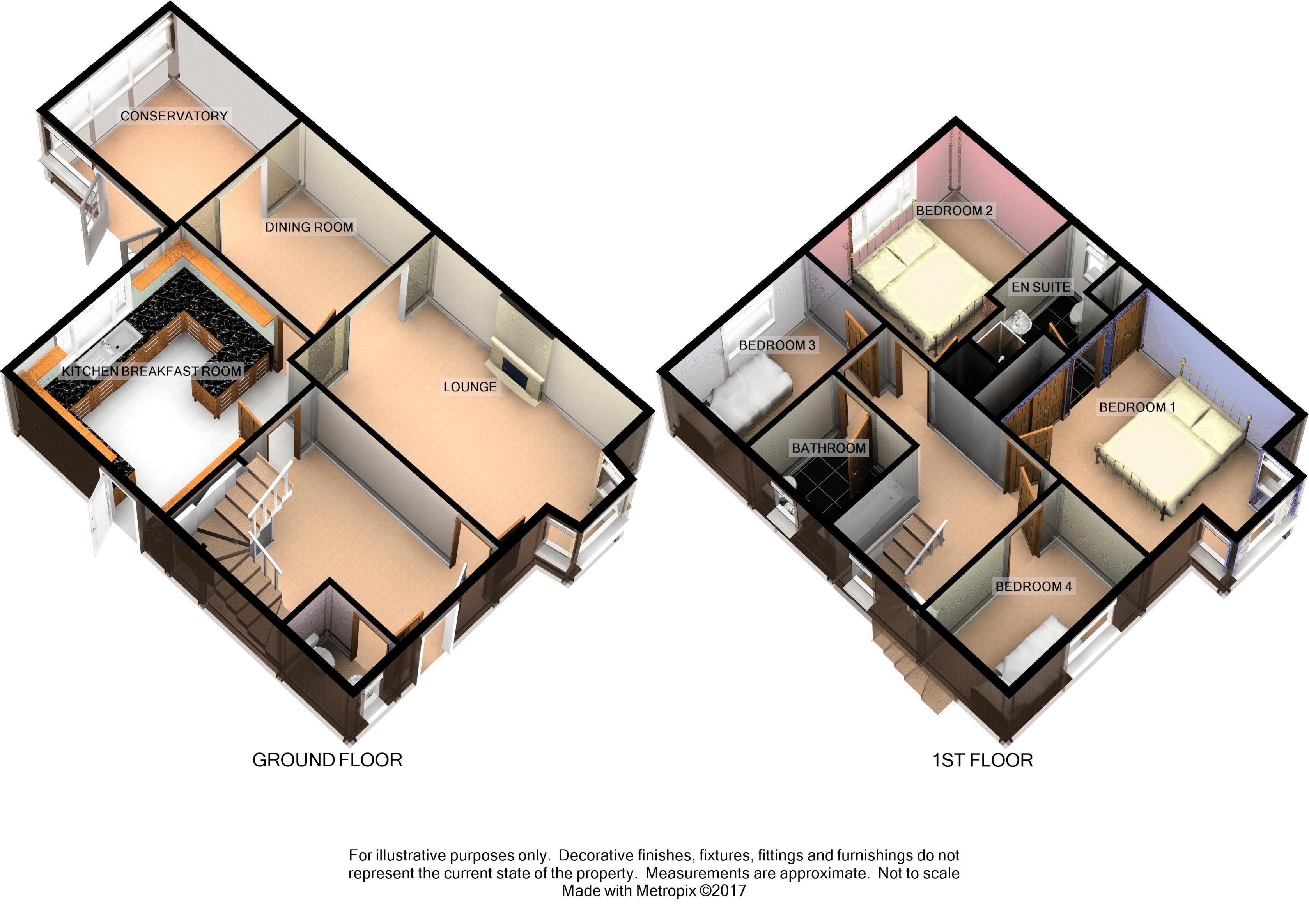 Etonhurst Close, Exeter floorplan