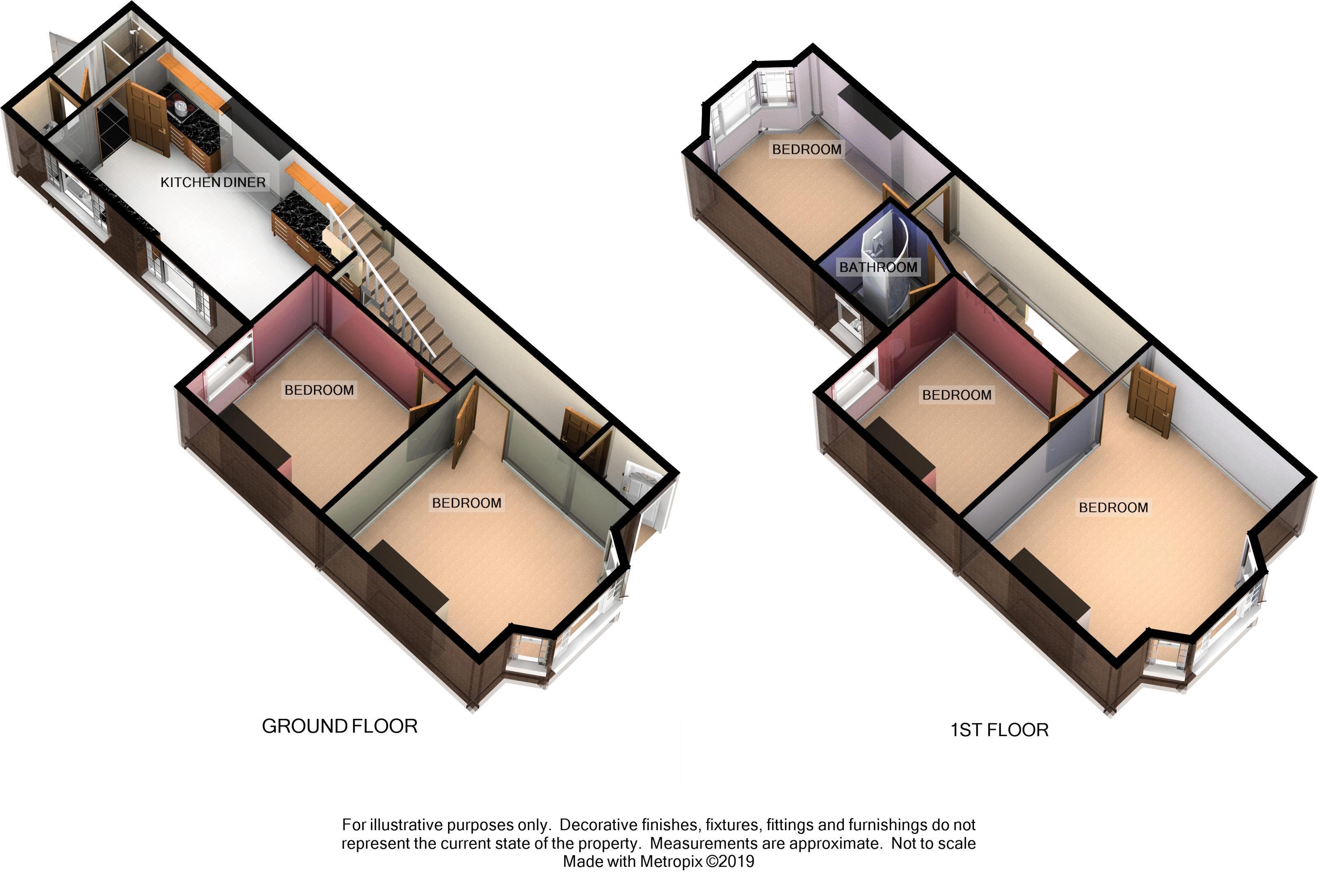 Monks Road, Exeter floorplan