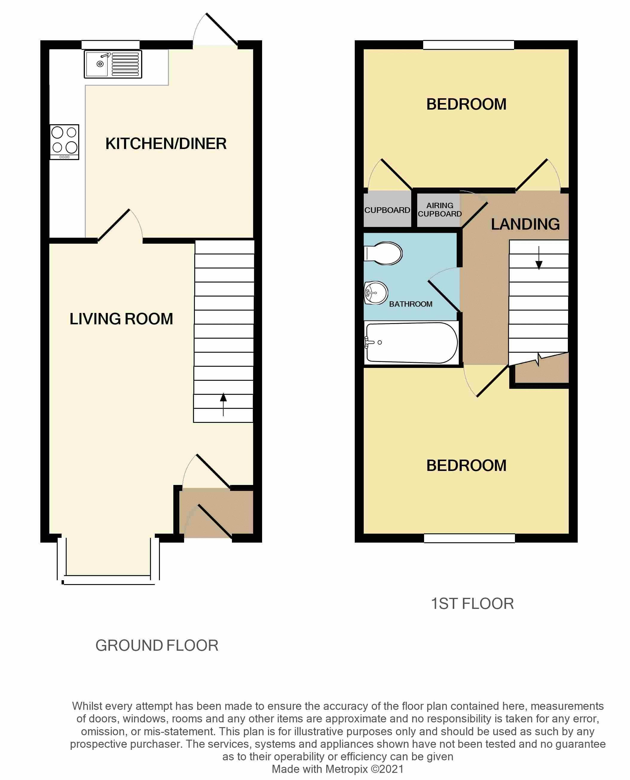 Howard Close, Exeter floorplan