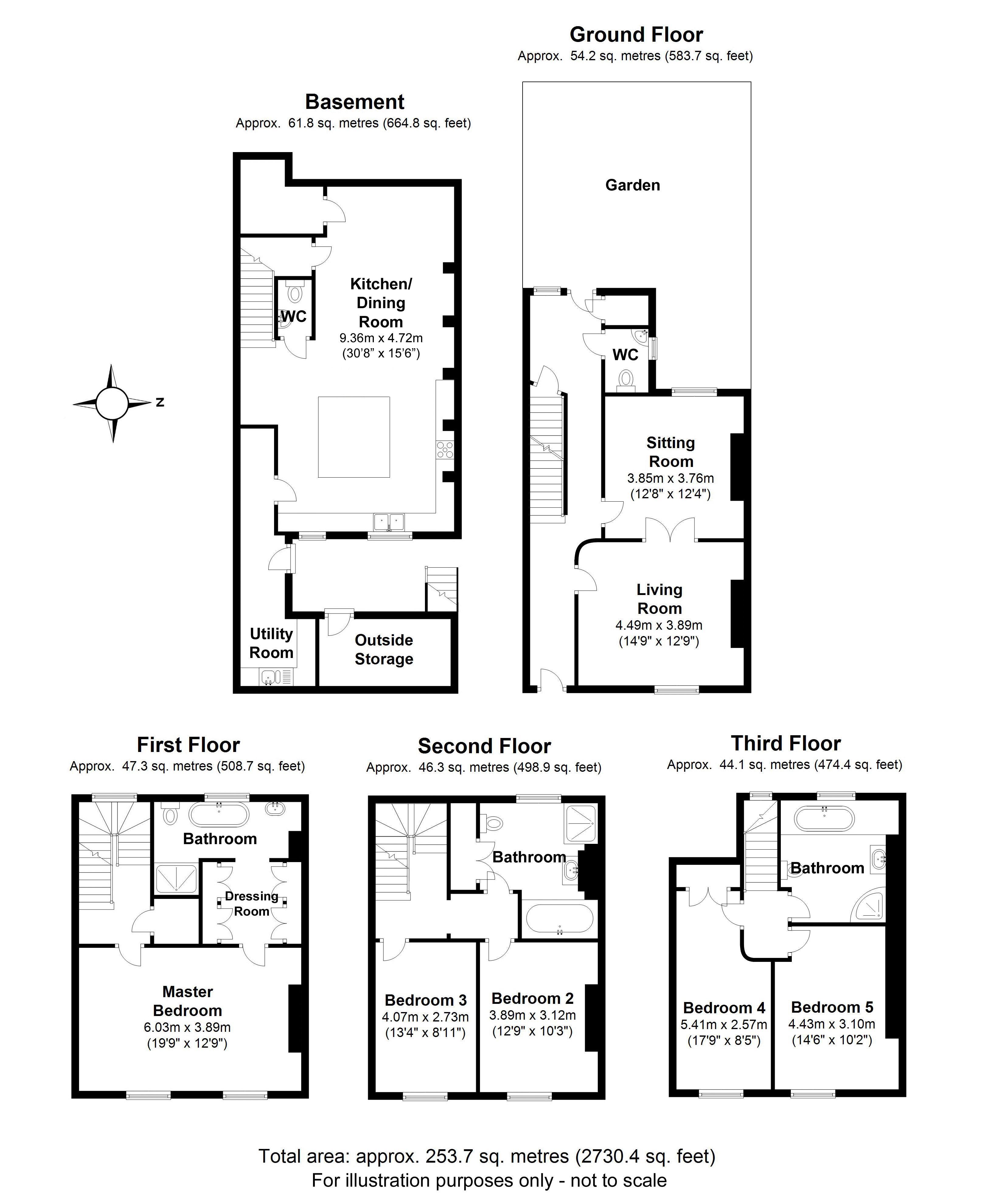 Portland Street, Leamington Spa. Floorplan. .