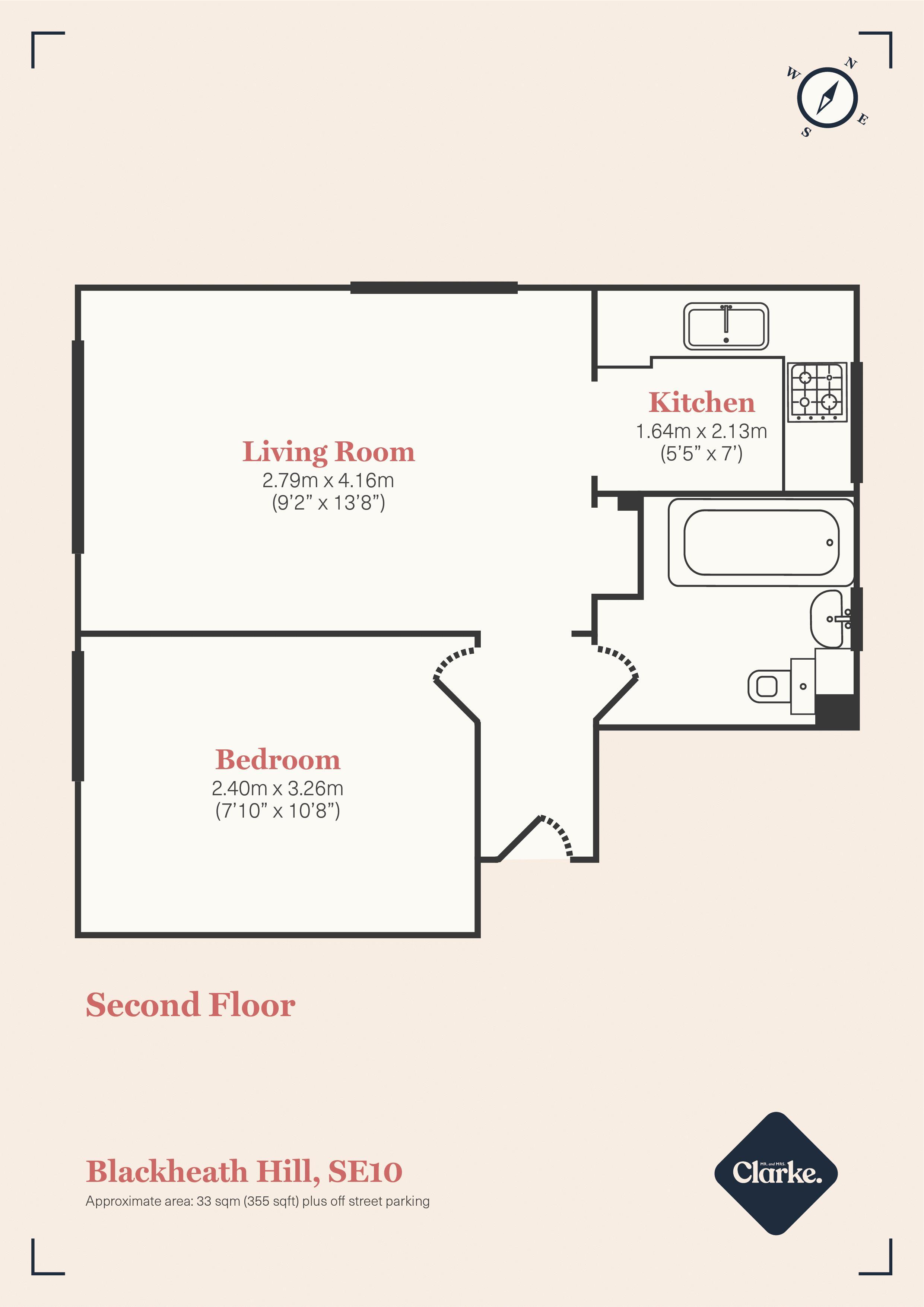 Blackheath Hill, SE10. Floorplan. Floor Plan.