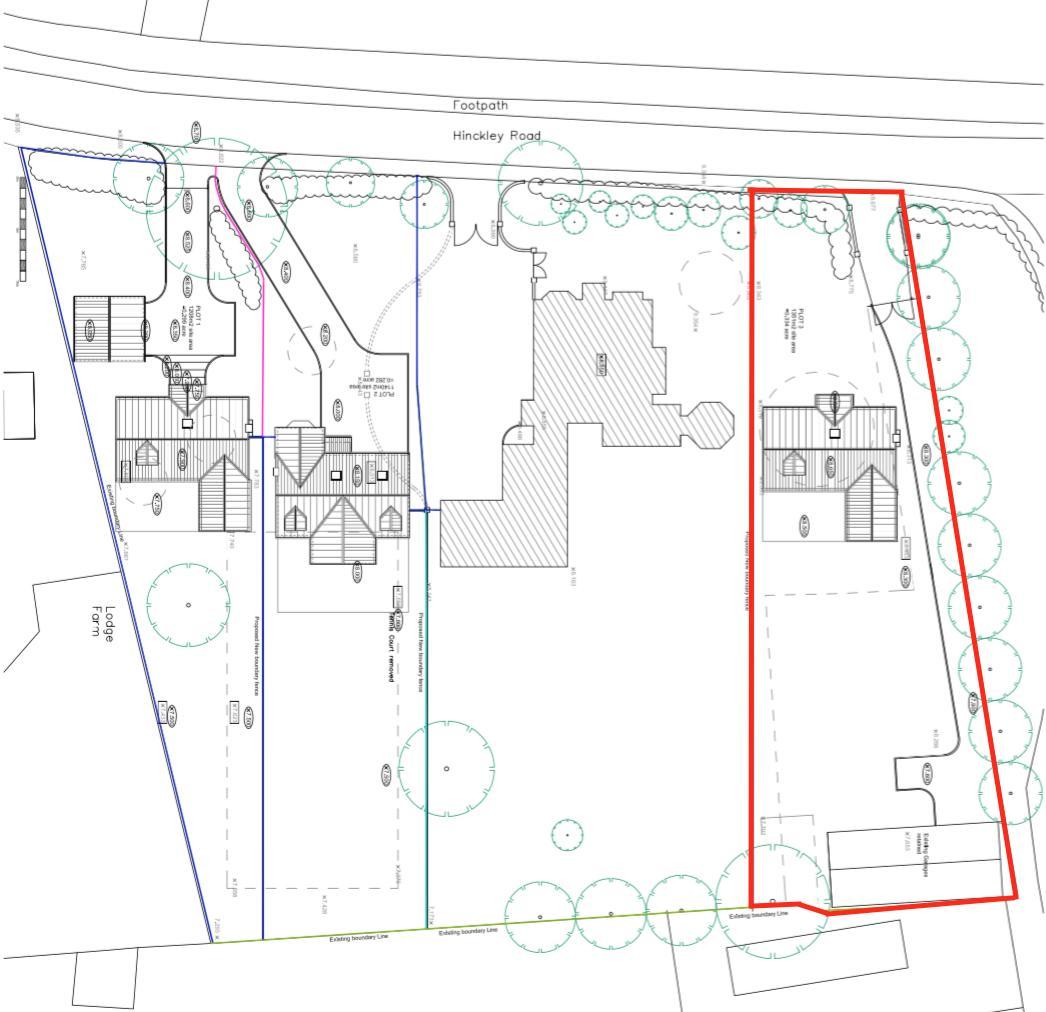 Hinckley Road, Stoke Golding. Floorplan. .