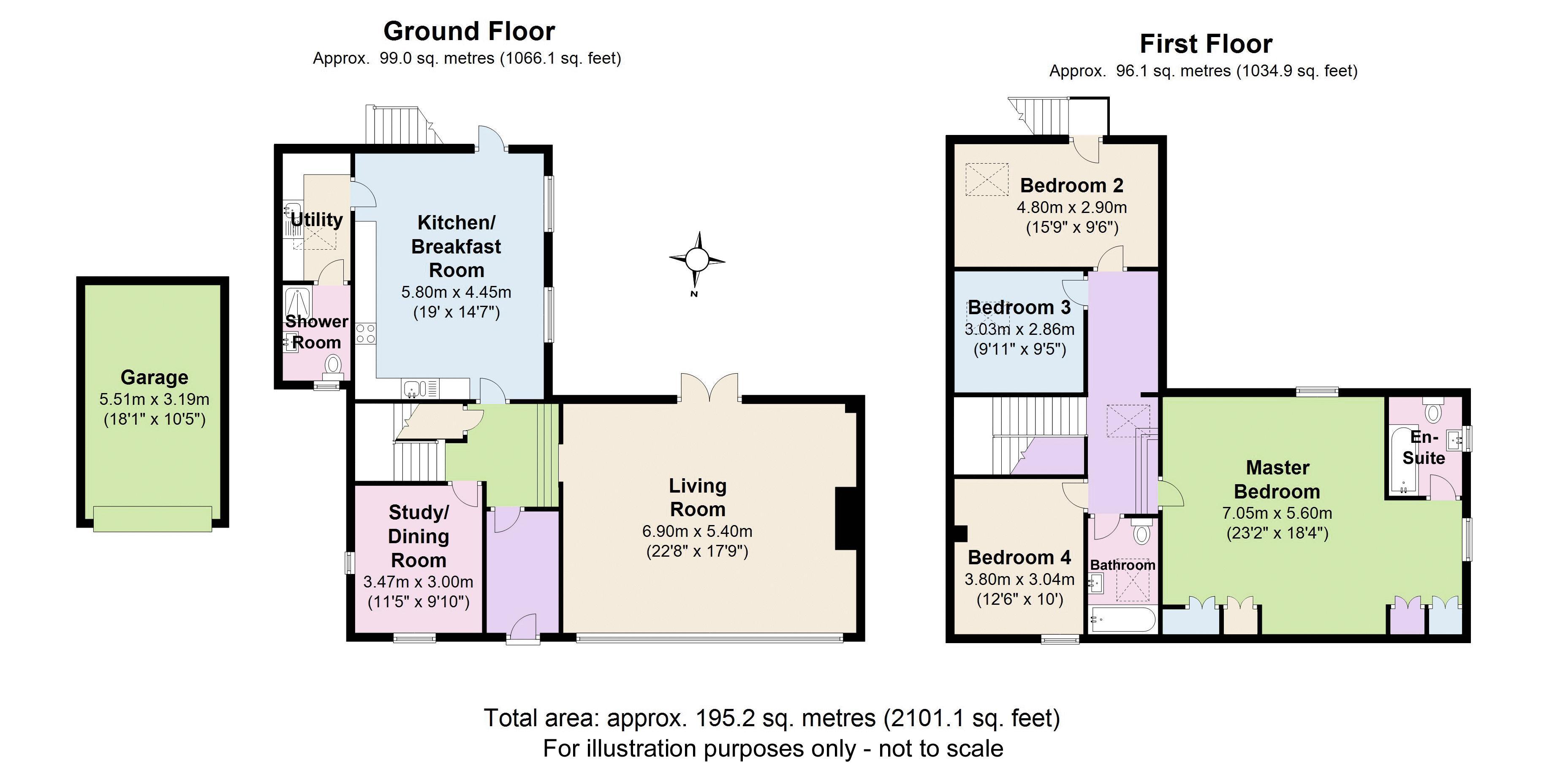 Rectory Barn, Broadwell. Floorplan. .