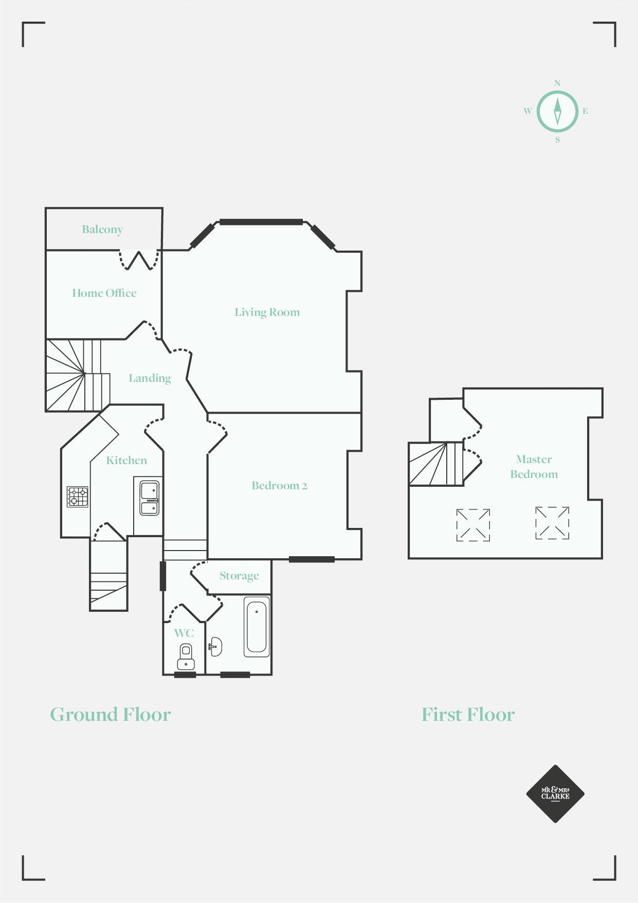 Sandringham Road, Cardiff. Floorplan. Floor Plan.