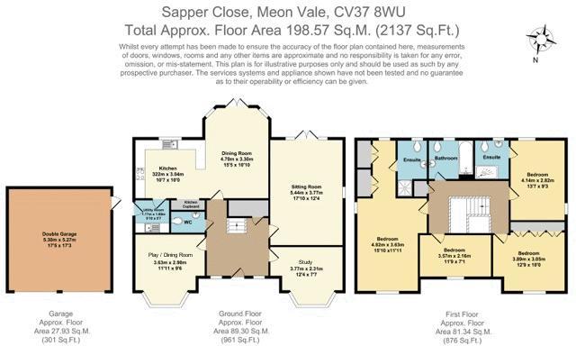 Sapper Close, Stratford-Upon-Avon. Floorplan. Sapper Close.