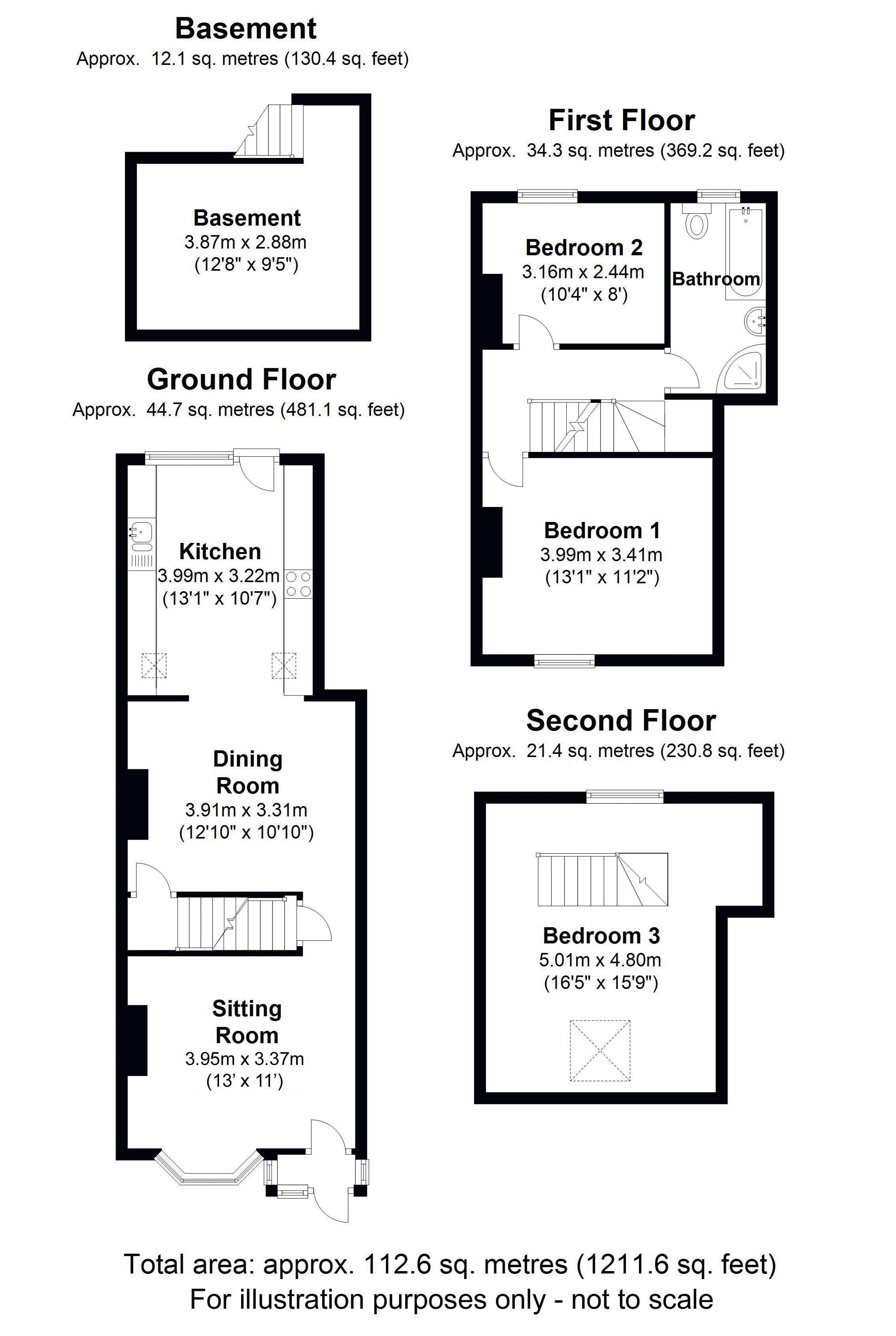 Mill Lane, Bentley Heath. Floorplan. Floorplan.