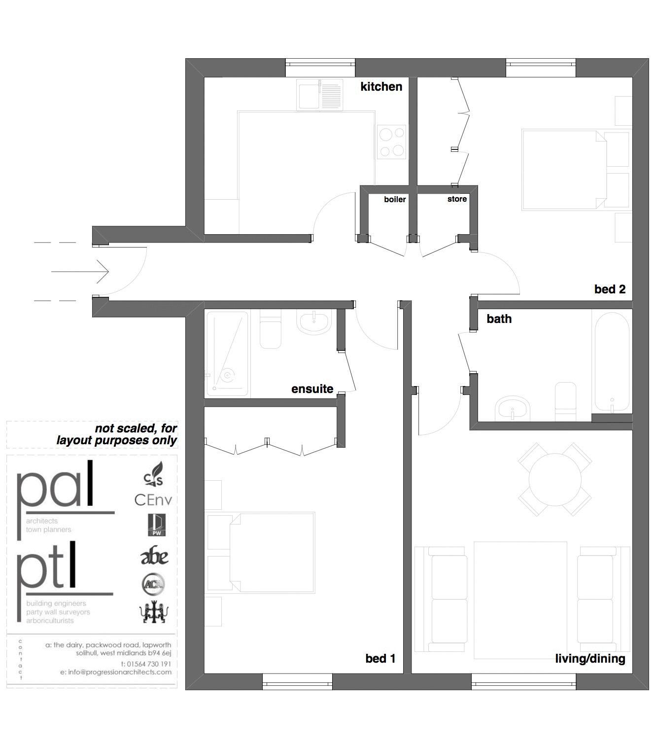 Chancel Court, Solihull. Floorplan. Chancel Court Plan.