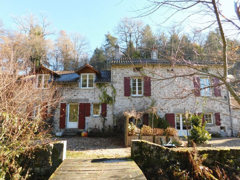 Enchanting watermill successful gite business