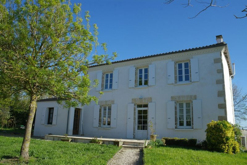 Charentaise village house within walking distance of amenities and lots of potential