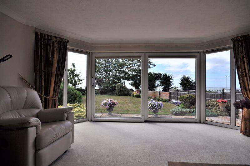 Living room estuary views